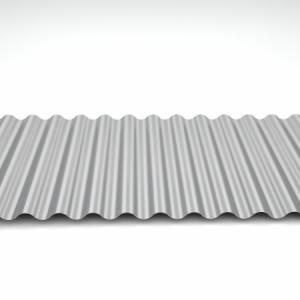 Telha ondulada metalica preço