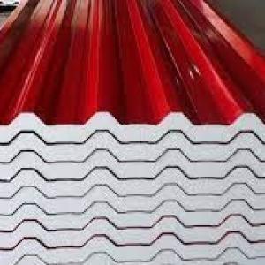 Telha termoacústica de aço galvanizado