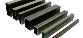 Barra de ferro tubo quadrado