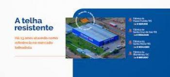 Empresa de telhas metalicas