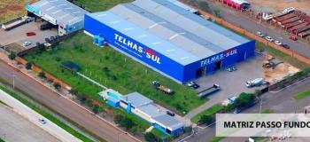 Fabrica de telhas trapezoidal galvanizada